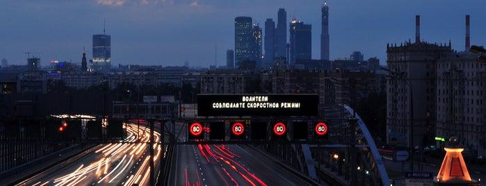 Смотровая площадка РАН is one of Интересные места Москвы и Подмосковья.