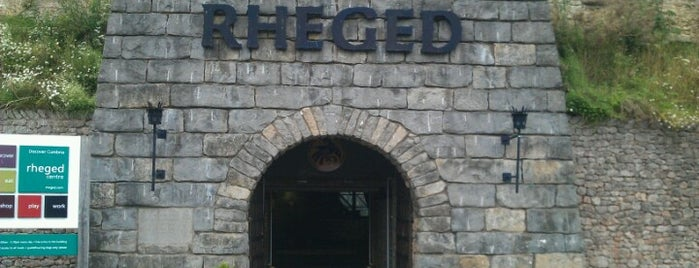 Rheged Discovery Centre is one of Louiseさんのお気に入りスポット.