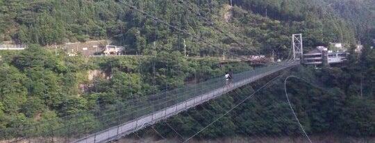 谷瀬橋(谷瀬の吊り橋) is one of アウトドア&景観スポット.