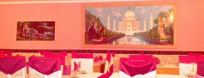 Taj Palace is one of Restaurantes.