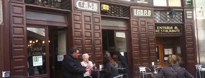 Casa Labra is one of Tapas por Madrid.