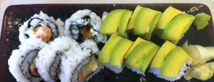 Ocean Sushi is one of Locais curtidos por Matt.