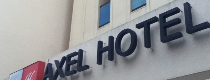 Axel Hotel is one of Listas wi fi.