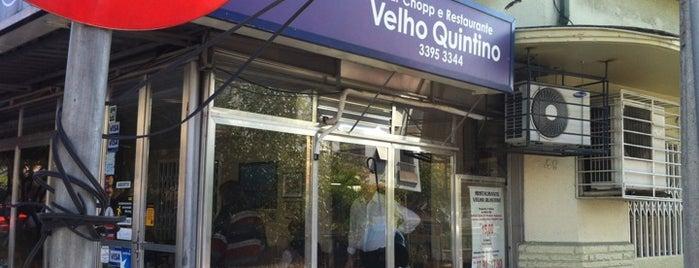 Velho Quintino is one of POA Almoço findi.