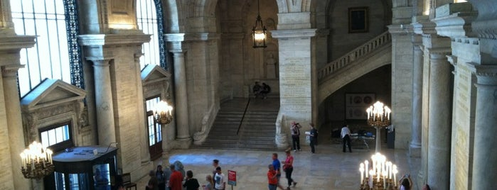 New York Public Library is one of Guide to New York's best spots.