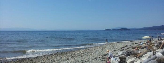 Davis bay beach is one of Lugares favoritos de Winnie.