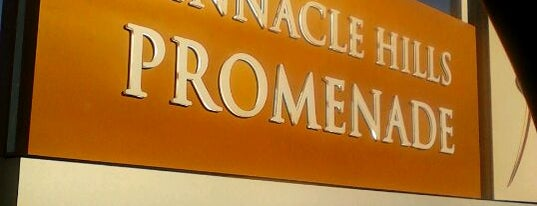 Pinnacle Hills Promenade Mall is one of Increase your Fayetteville City iQ.