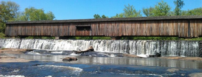 Watson Mill State Park is one of Athens/Atlanta area off the beaten path.