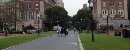 College Walk - Columbia University is one of Tempat yang Disukai Will.