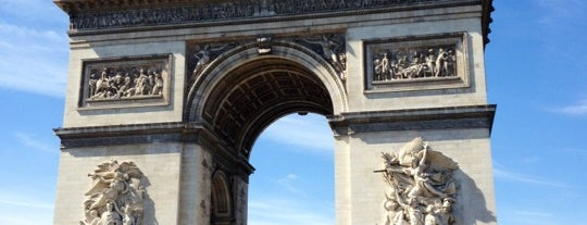 Arco do Triunfo is one of Paris.