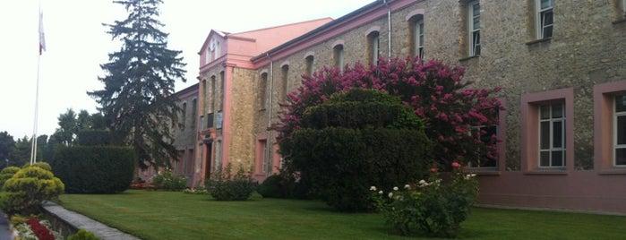 T.C. İstanbul Sabahattin Zaim Üniversitesi is one of İstanbul'daki Üniversite ve MYO'ların Kampüsleri.