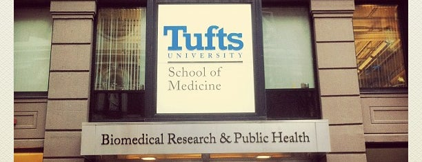 Tufts University School Of Medicine is one of Boston.