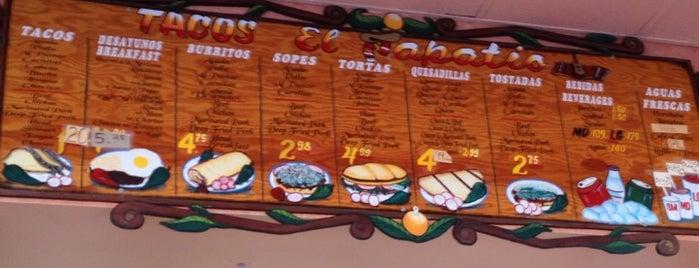 Tacos El Tapatio is one of Orte, die Aaliyah gefallen.