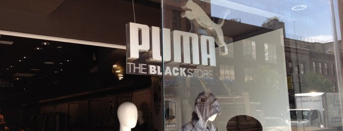 The PUMA Black Label Store is one of For NYC Shopaholics.