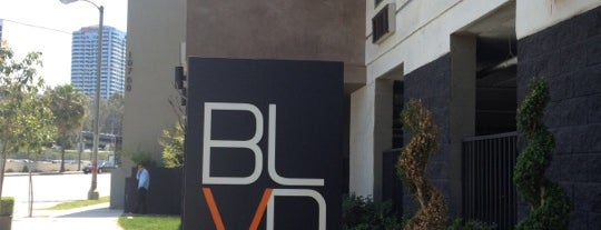 The BLVD Hotel and Spa is one of LAX.