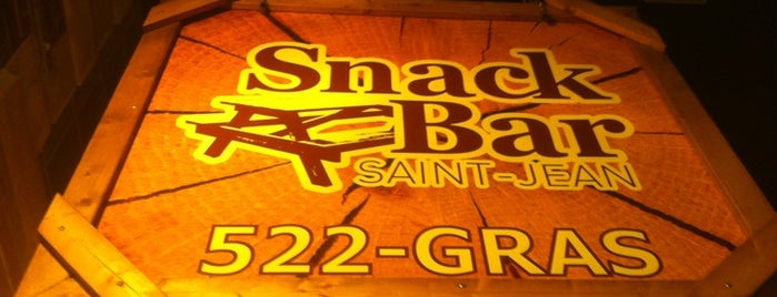 Snack Bar Saint-Jean is one of Quebec.