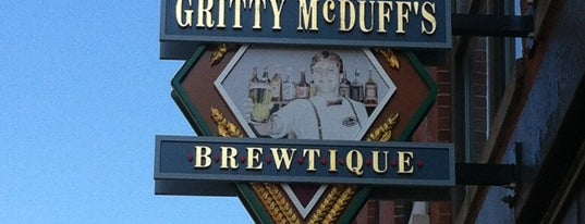 Gritty McDuffs Brewing Company is one of Best breweries, brew pubs, and beer bars.