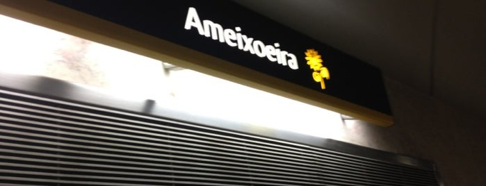 Metro Ameixoeira [AM] is one of Lx museus e jardins gratis.