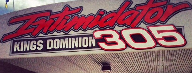 Intimidator 305 - Kings Dominion is one of Stevenson's Favorite Roller Coasters.