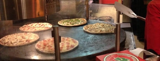 Mickey's Pizza is one of Food Places.