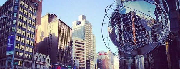 Columbus Circle is one of NY To Do.