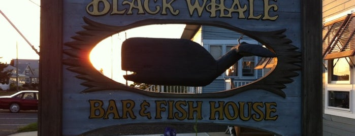 Black Whale Bar & Fishhouse is one of Lugares favoritos de Christa.