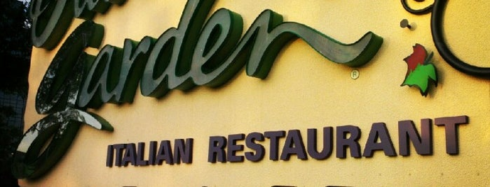 Olive Garden is one of places I have enjoyed.
