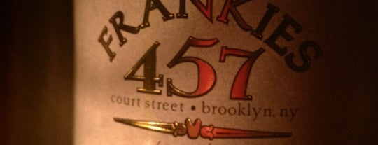 Frankies 17 is one of Must-Visit Italian Restaurants in New York.