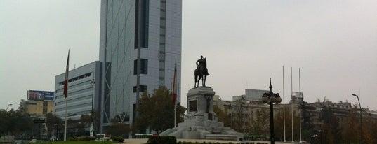 Plaza Baquedano is one of Lugares, plazas y barrios de Santiago de Chile.