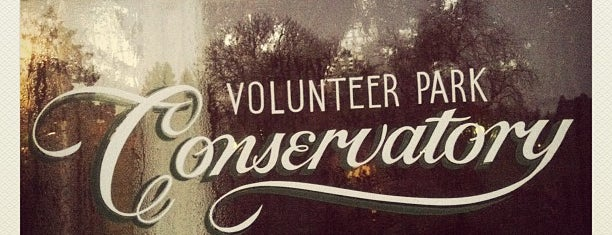 Volunteer Park Conservatory is one of 2012 MLA Seattle.