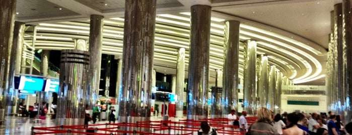 Dubai International Airport (DXB) is one of Dubai List.