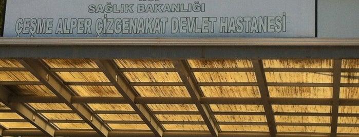 Çeşme Devlet Hastanesi is one of like.