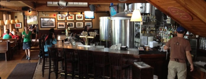 Breckenridge Brewery & Pub is one of Drew's favorites.