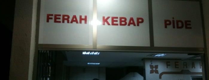 Ferah Kebap ve Lahmacun Salonu is one of Volkan 님이 좋아한 장소.