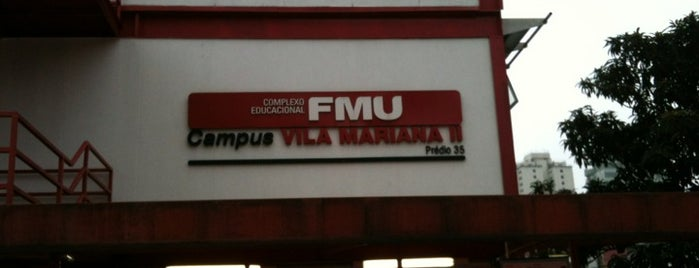 FMU - Campus Vila Mariana II is one of Lieux qui ont plu à Cidomar.