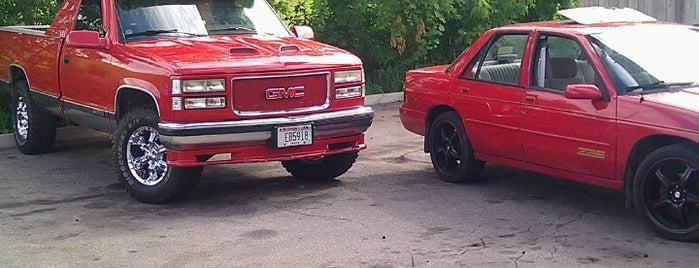 Mr P's Tires is one of Brent : понравившиеся места.