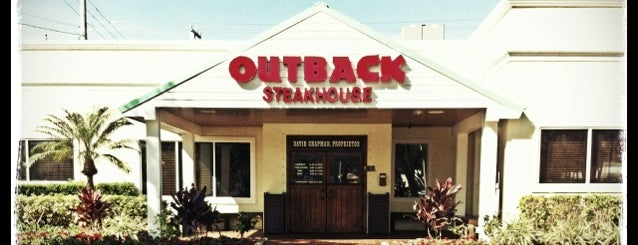 Outback Steakhouse is one of Restaurants.