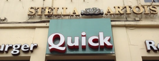 Quick is one of Locais curtidos por Hideo.