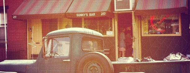 Sunny's is one of NYC bars etc.