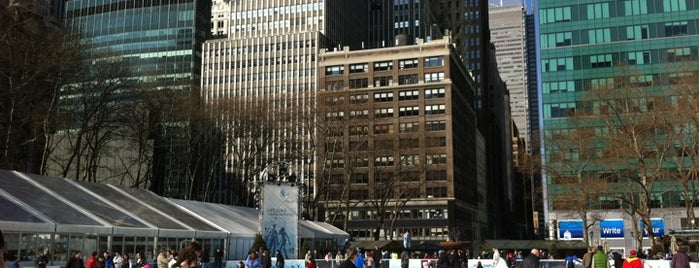 Bank of America Winter Village at Bryant Park is one of Locais salvos de Lisa.