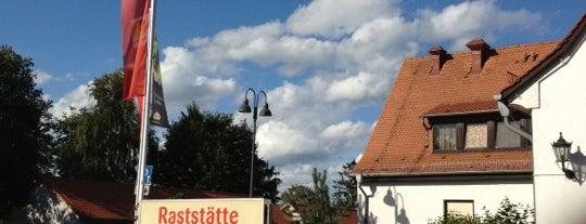 Raststätte Rimberg Nord is one of Posti che sono piaciuti a Jak.