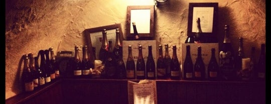 The Cork & Bottle is one of BarChick's Best Wine Bars.