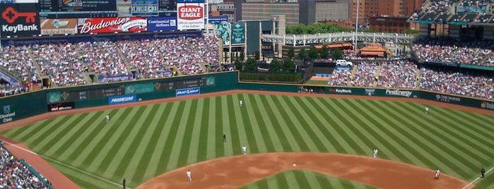 Progressive Field is one of MLB Stadium Quest.
