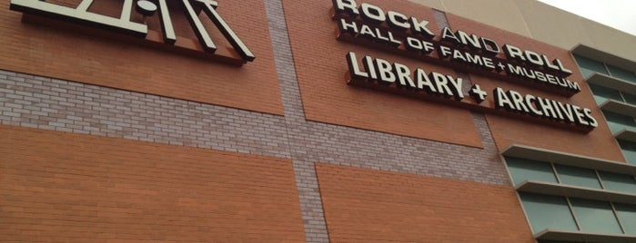 Rock and Roll Hall of Fame and Museum - Library & Archives is one of Cleveland Rocks.