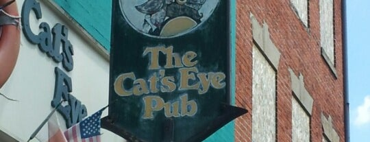 Cat's Eye Pub is one of Buy Me A Drank.