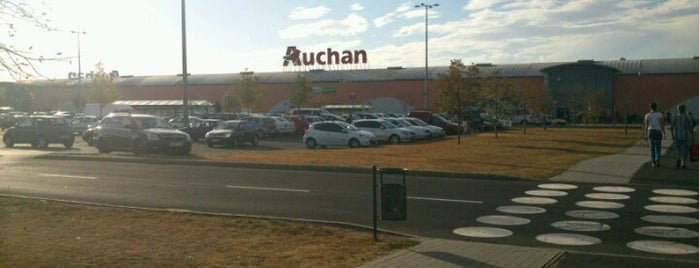 Auchan Csömör is one of Must See in Budapest !.
