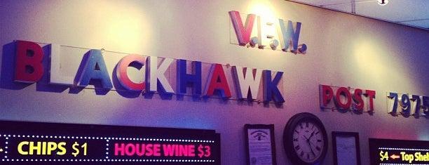 VFW Blackhawk Post 7975 is one of Bucktown/Wicker Park Insider.