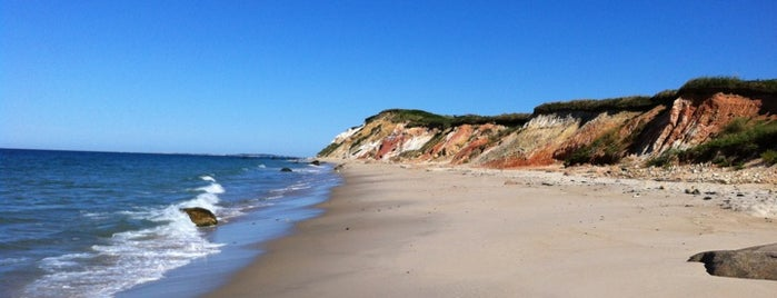 Moshup Beach is one of Martha's vineyard.