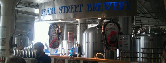 Pearl Street Brewery is one of Booze and beer.