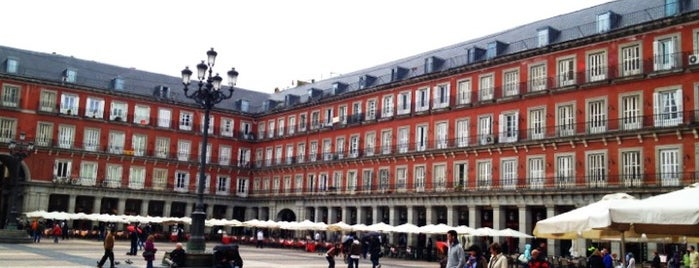 Plaza Mayor is one of Madriz.